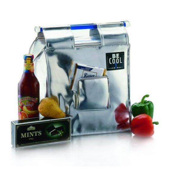 BeCool Shopping Silver Cooler Bag-BeCool