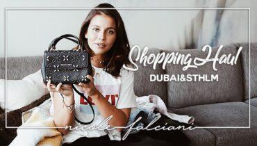 DUBAI & STOCKHOLM SHOPPING HAUL – Nicole Falciani