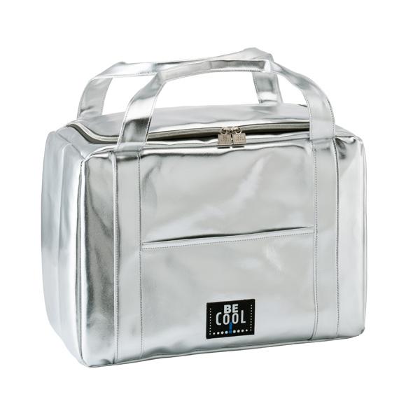 BeCool City Silver Cooler Bag-BeCool