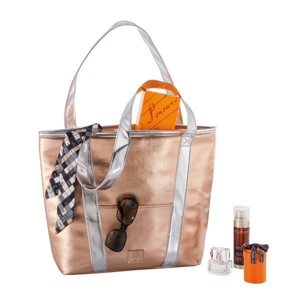 BeCool Shopper Rosegold Cooler Bag-BeCool
