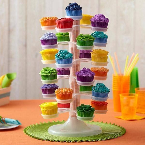 Wilton Adjustable Cupcake Tower Set-Wilton