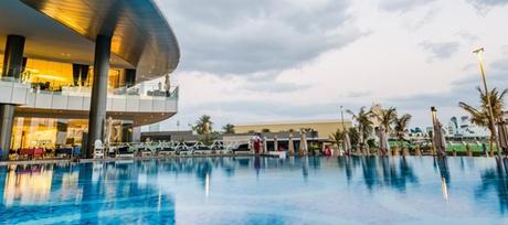 Pool and Beach Access at 5* Jumeirah Etihad Towers