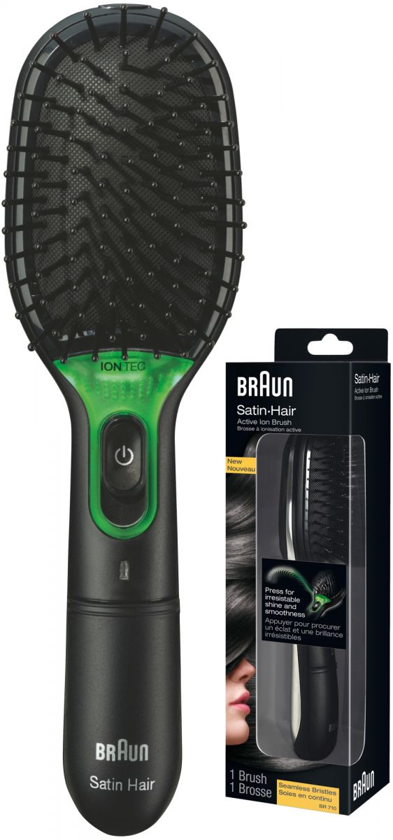 Braun Satin Hair Brush with IONTEC for more shine & instant smoothness