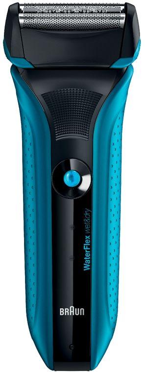 Braun WaterFlex - Blue - Wet & Dry Technology