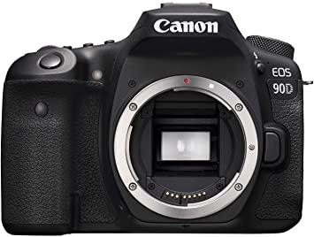 Canon 90D Digital SLR Camera [Body Only] - Black