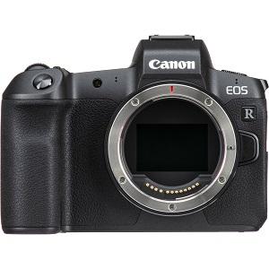 Canon EOS R Digital Camera Body With Mount Adapter EF-EOS R