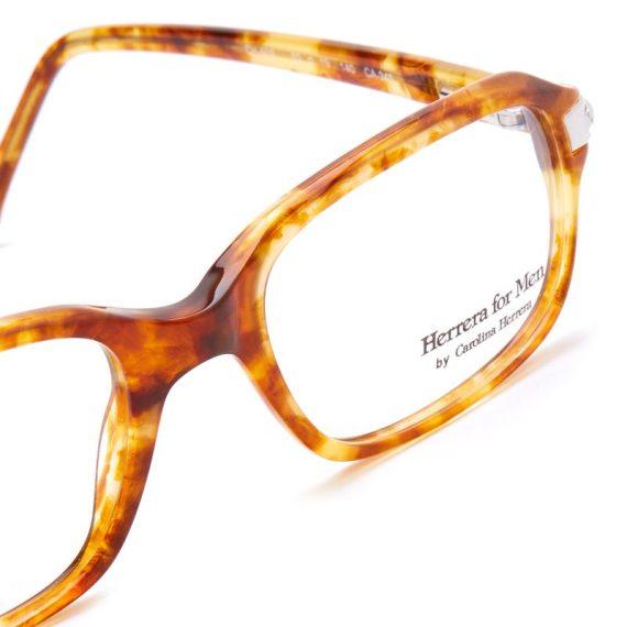 Carolina Herrera Rectangular Eyeglasses Frame for Unisex Havana (CH602