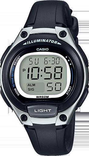 Casio Resin Band Ladies Watch Digital Dial (LW-203-1AVDF)