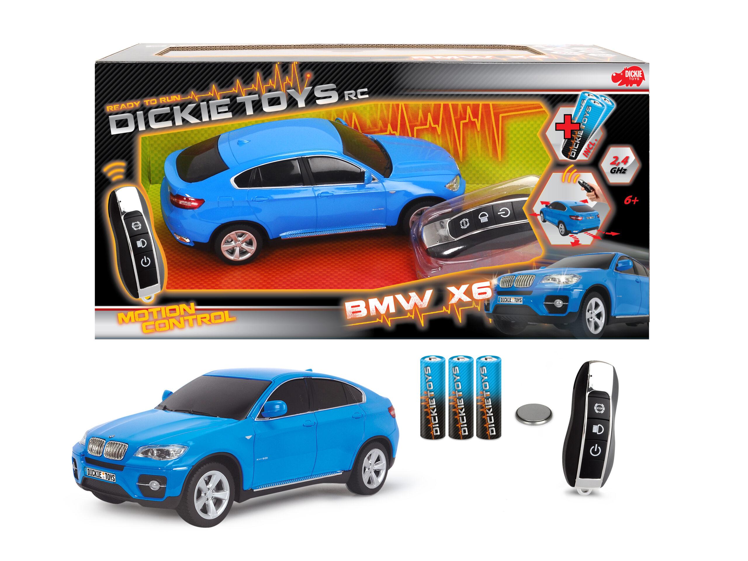 Dickie - R/C Motion Control Bmw X6 - 201119106