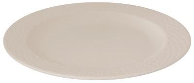 """Dinewell Melamine White Topaz Dinner Plate 10.5"""""""