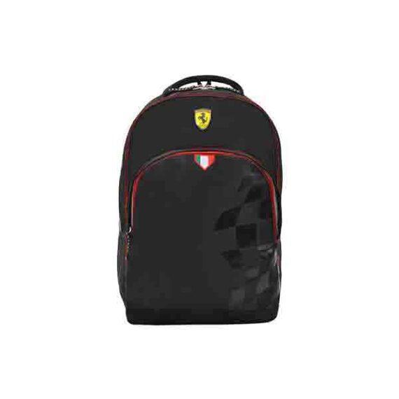 """Ferrari Fire In Horse Backpack 17"""" Bp (FRHR0703)"""