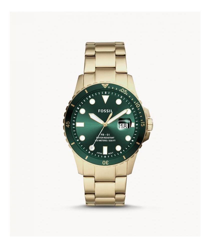 Fossil Men's Stainless Steel Analog Wrist Watch (FS5658)