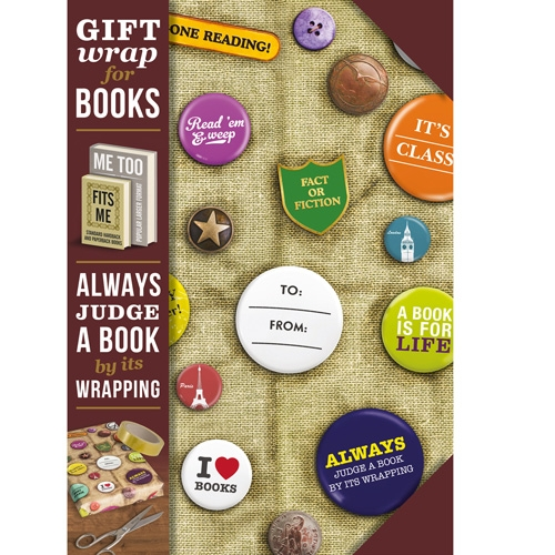 Gift Wrap - Book Badges