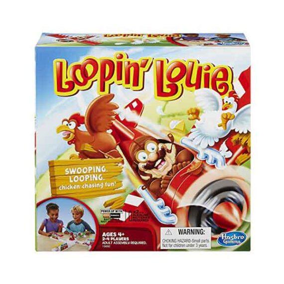 HASBRO: Looping Louie Board Game