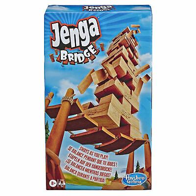 Hasbro Jenga Bridge Block Stacking Game for Kids (E9462)