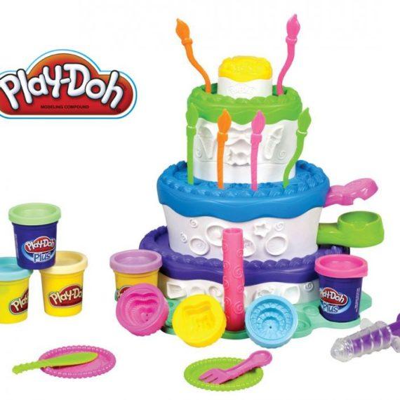 Hasbro Play-Doh Sweet Shoppe Cake Mountain