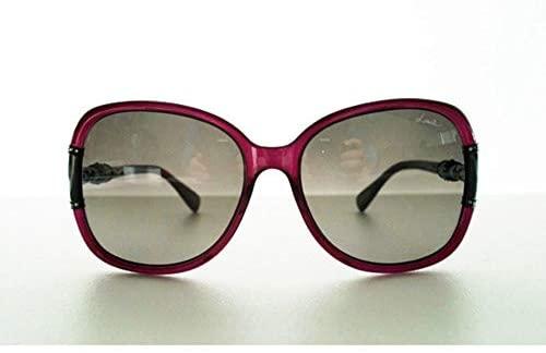 Lanvin Oval Shape Wrap Women's Sunglasses Purple Frame and Lens Color