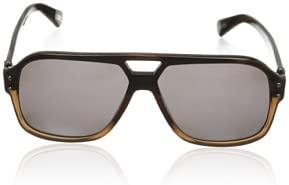 Lanvin Paris Men's Sunglasses Brown Frame (SLN507-58-M33P) Size 58-13-