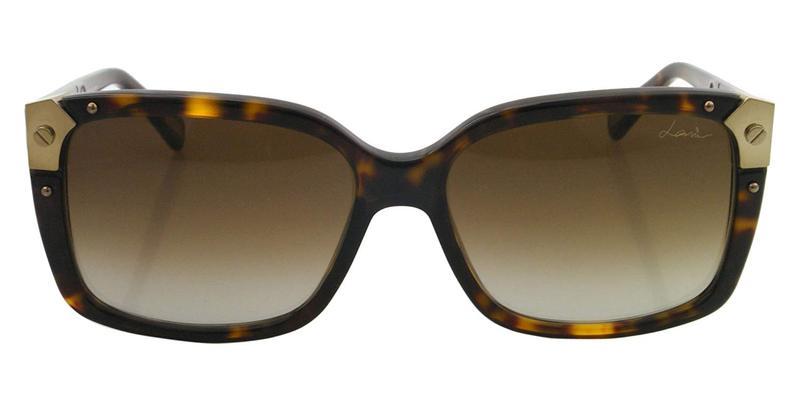 Lanvin Square Frame Shape Unisex Havana / Brown Color Sunglasses and L