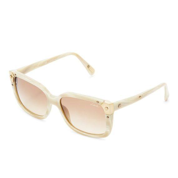 Lanvin Square Frame Shape Unisex Khaki / Brown Color Sunglasses and Le