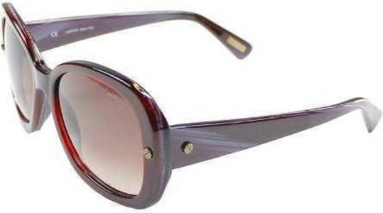 Lanvin Women's Oval Shape Purple Red Frame Designer Sunglasses Lens Re