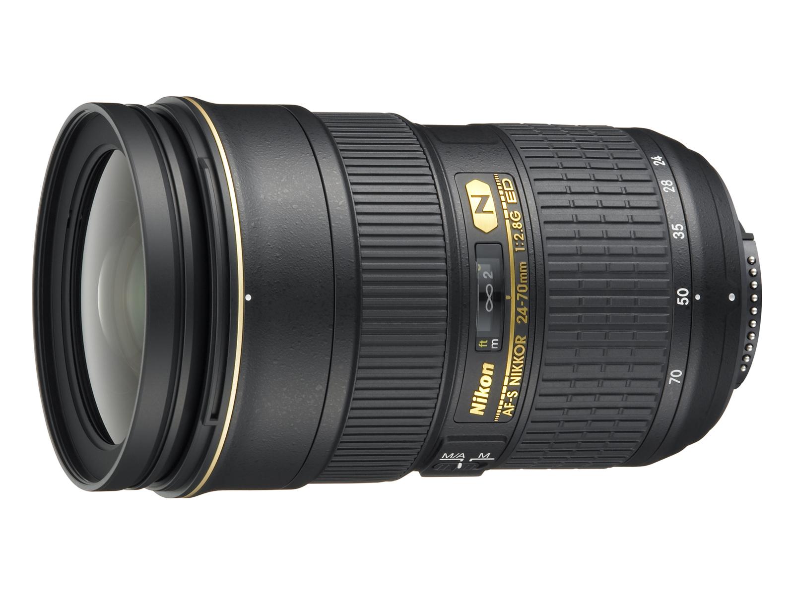 Nikon 24-70mm f/2.8G ED AF-S NIKKOR for Nikon DLSR Cameras With Free Gift