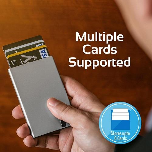 Promate RFID Safe Card Case