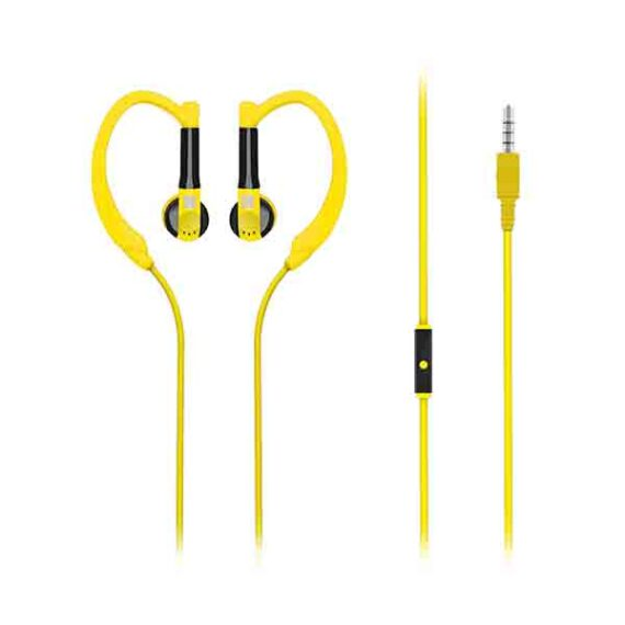 Promate Sports Headphone In-Ear Exercise Earphone With Mic for Running
