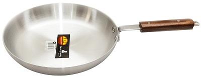 RAJ ALUMINIUM FRYING PAN WOODEN HANDLE - 25.5cm