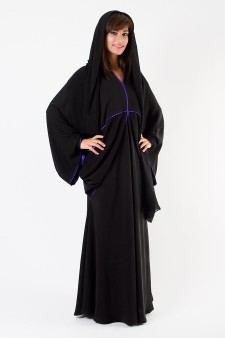 Royal Couture Abaya (ALJ-010)