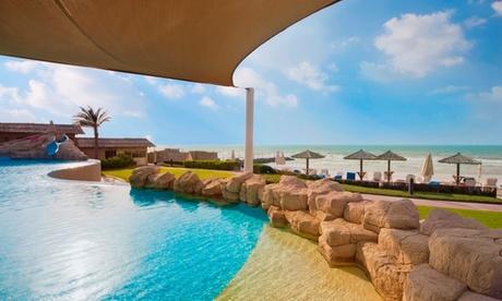 Sharjah: 1-Night 4* Beach Break with Breakfast
