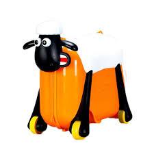 Shaun the Sheep - Ride On Suitcase - Orange (SC0015)
