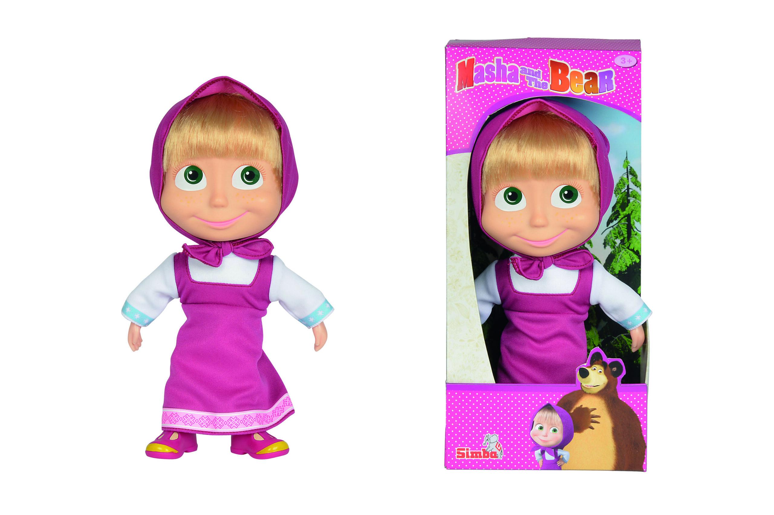 Simba - Masha Soft Bodied Doll 23cm (9306372)