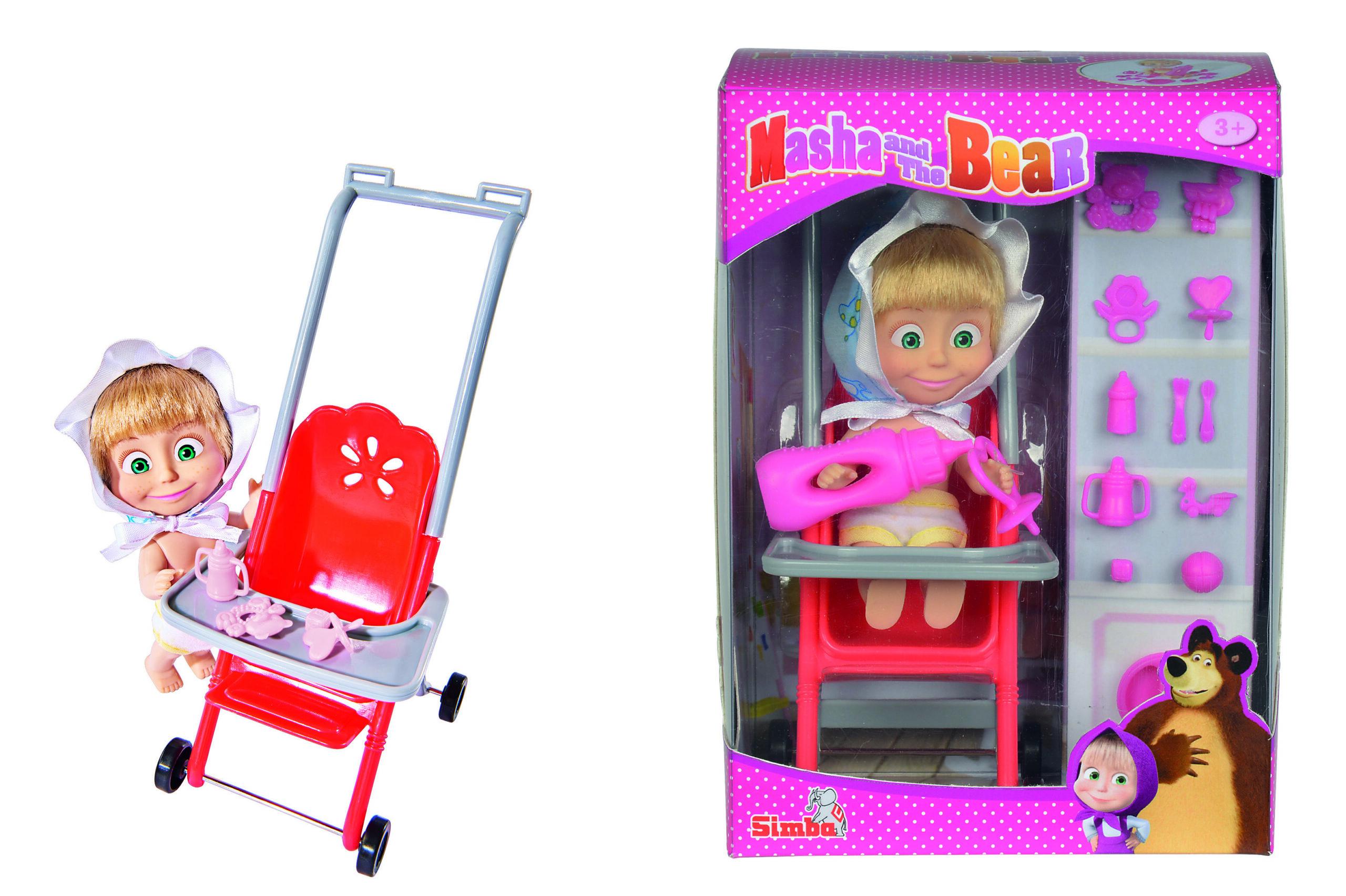 Simba - Masha in Stroller (9301957)