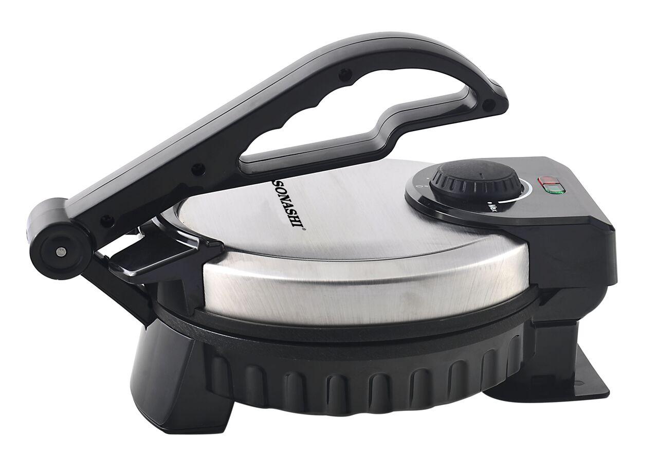 Sonashi Non Stick Roti Tortilla Maker 900w (SRM-857)