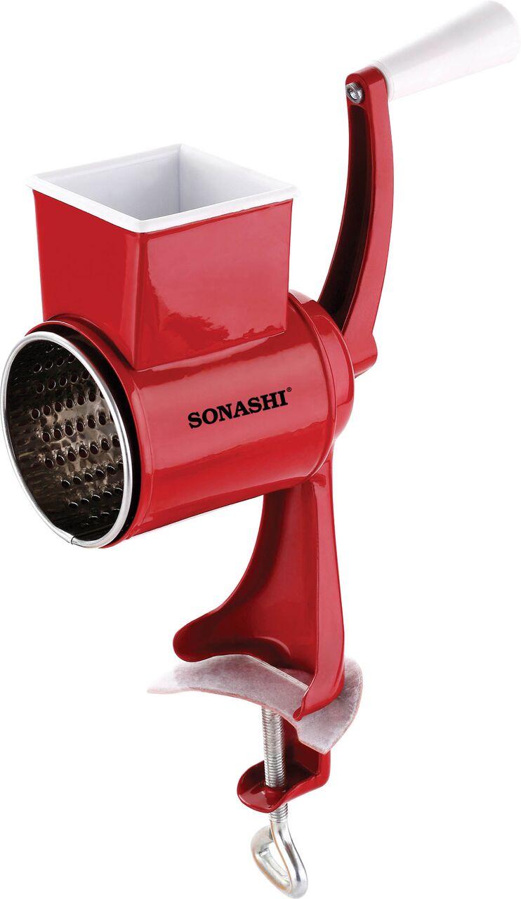 Sonashi Walnut Grinder & Cheese Grater Manual Control (SWG-001)