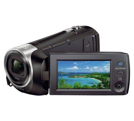Sony HDR-PJ410 Camcorder Camera (Black)
