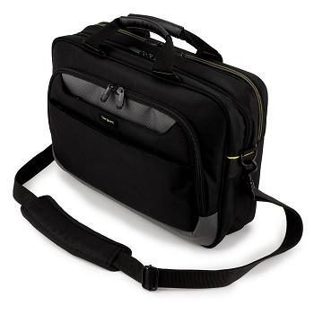 "Targus CityGear 15.6"" Slim Topload Laptop Case Black"