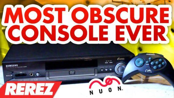 The Most Obscure Console Ever: The Nuon – Rare Obscure or Retro – Rerez