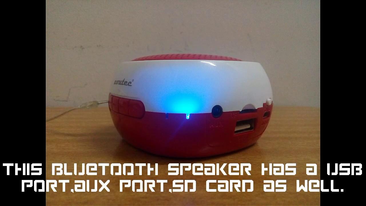Aoutec Bluetooth speaker