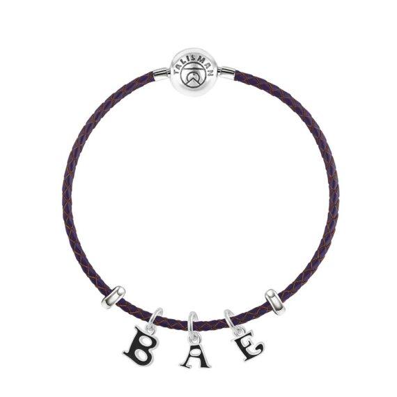 """BAE"" Charm Bracelet"
